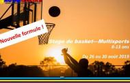 Stage de Basket et Multisports