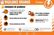 Vigilance Orange Orages