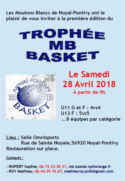 Trophée MB Basket
