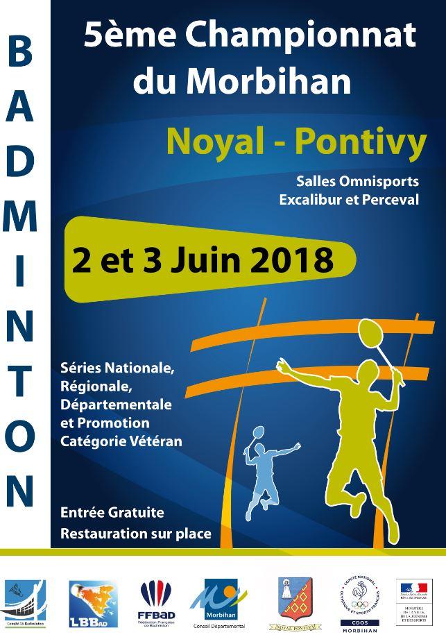 5ème Championnat du Morbihan de Badminton