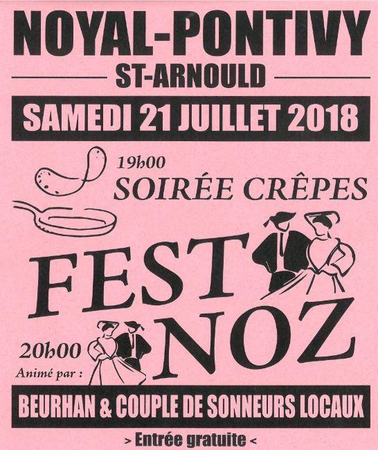 Soirée crêpes et Fest-Noz
